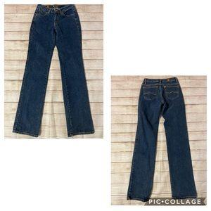 3/$30🦋 Aura by Wrangler Blue Straight Leg Jeans